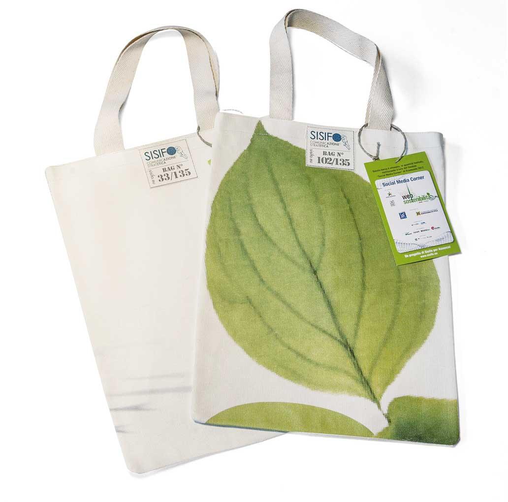 Assoscai borsa riciclata