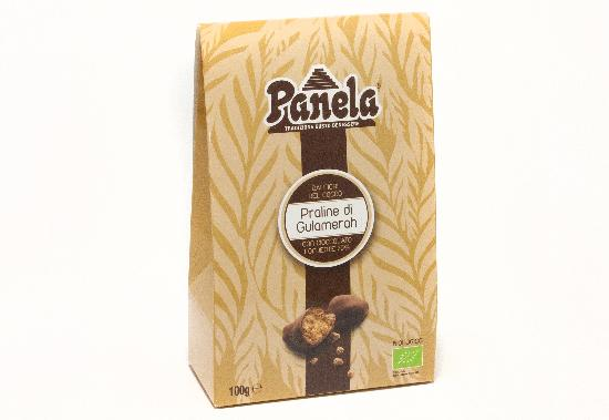 Packaging praline bio Panela in carta e cartone riciclato