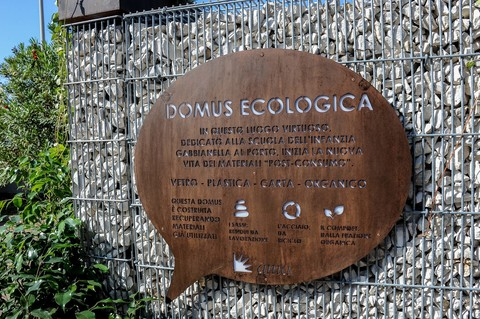 AMA Roma Domus ecologia ingresso